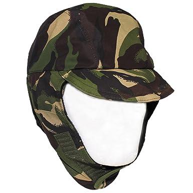 1f56f1dd Genuine British Army DPM Camo Waterproof Gore Tex Hat Lined Cold Weather Cap  Grade 1 (