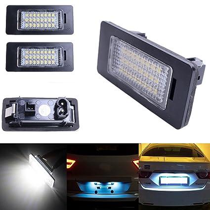 Ricoy 24 LED Número Matrícula Luces para E90 M3 E92 E70 E39 F30 E60 E61 E93 ...