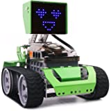 Robot Kit Toy Building & Graphical Programming, Qoopers Robotics STEM Education Arduino Based Coding, DIY Blocks Metal Construction, Gifts for Kids Boy or Girl Age 8+, Robobloq