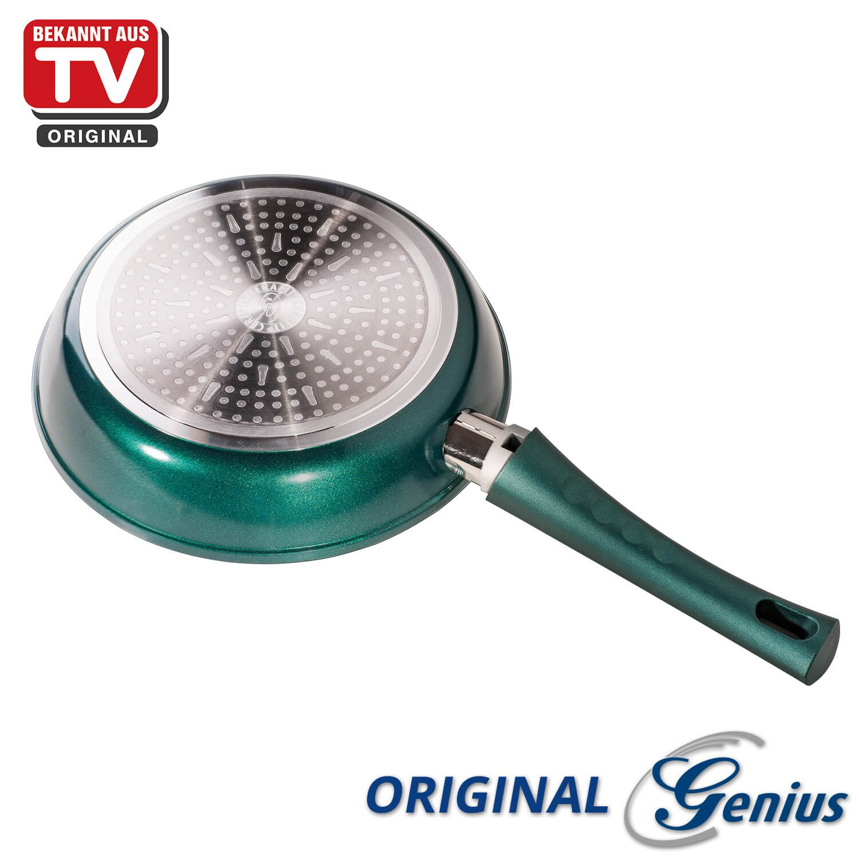 Genius DIS1 Cerafit Fusion | - Sartén (28 cm, incluye tapa de cristal, 2 piezas, revestimiento de cerámica, Conocido Por TV de Fusion, Nuevo: Amazon.es: ...