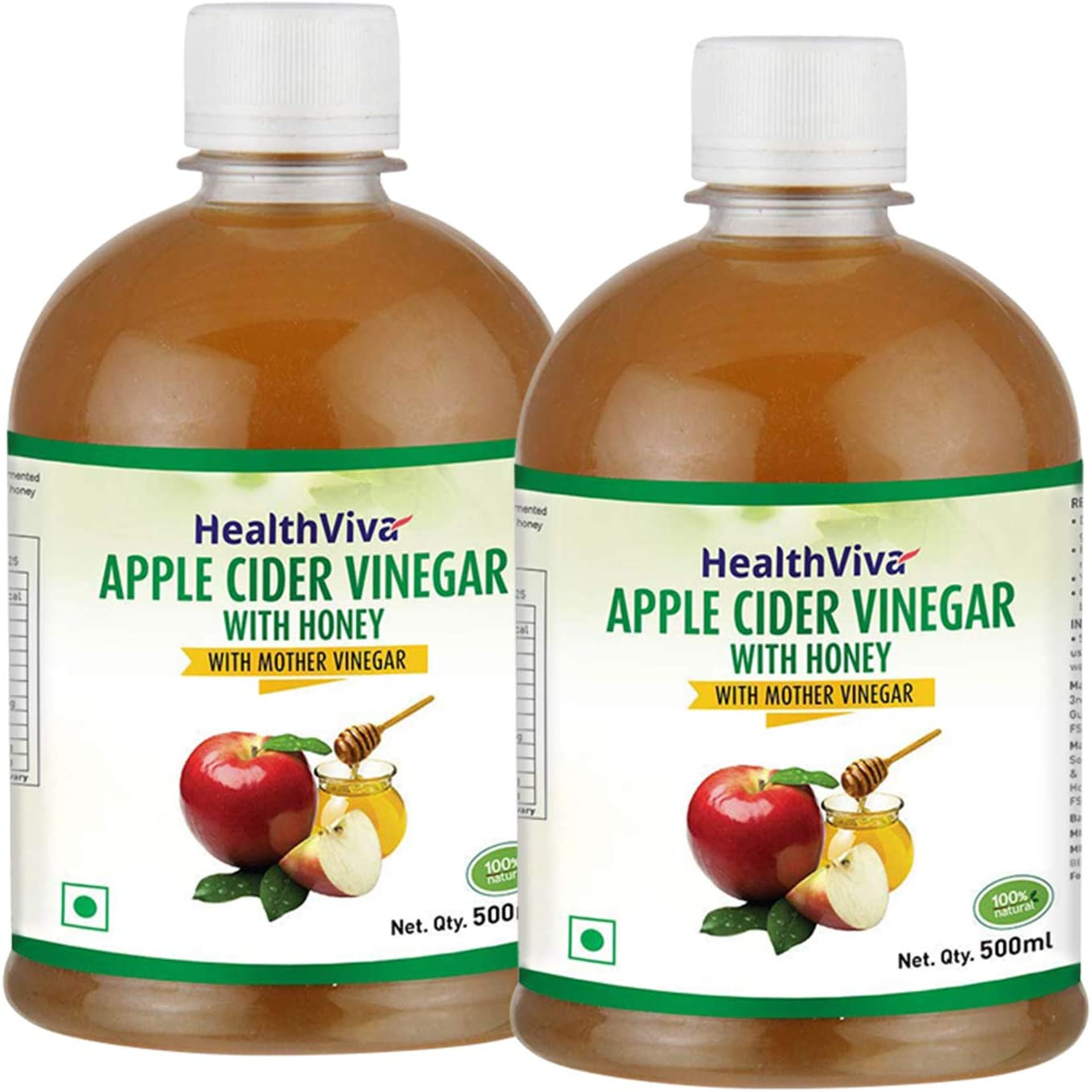 HealthViva Apple Cider Vinegar Combo