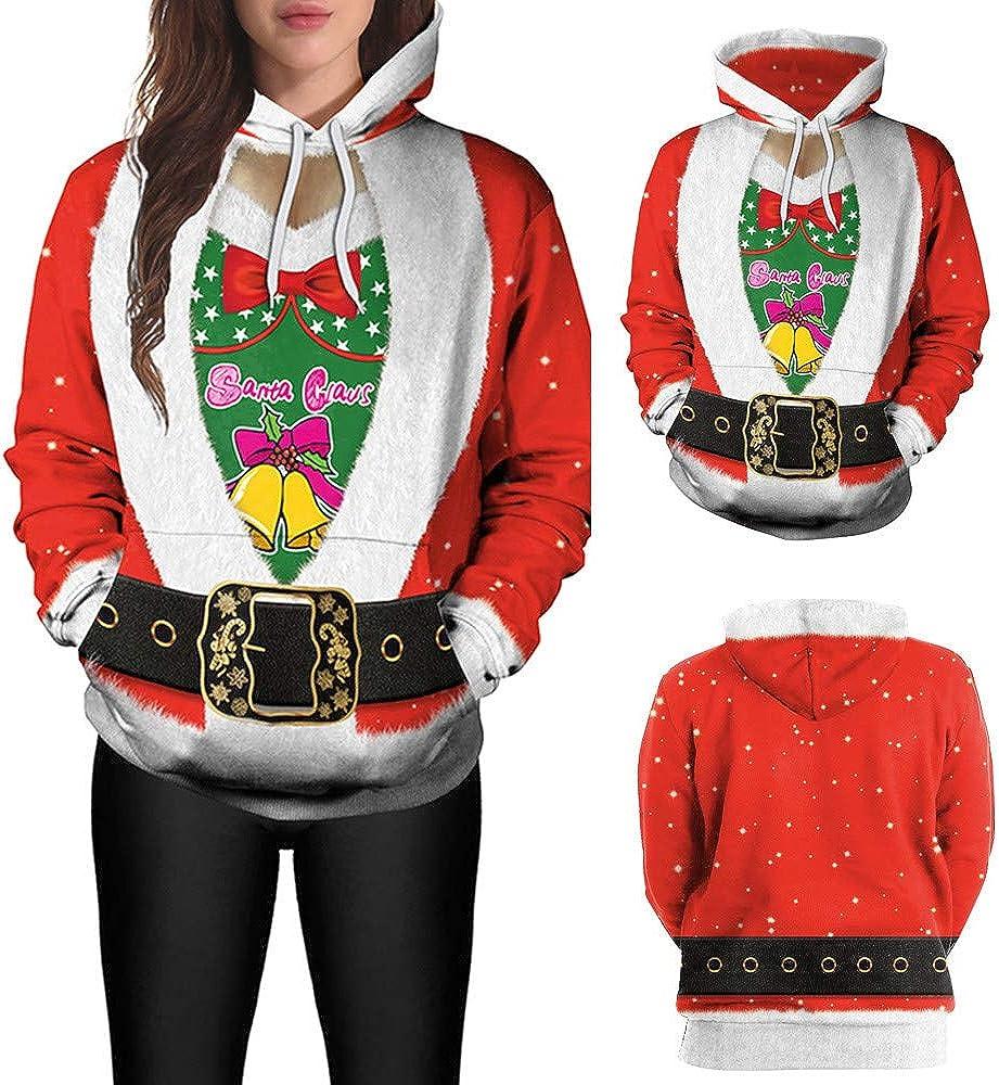 Palarn Clearance Christmas Clothes Womens Christmas Snowflake Elk Print Long Sleeves Tops Sweatshirts Blouse