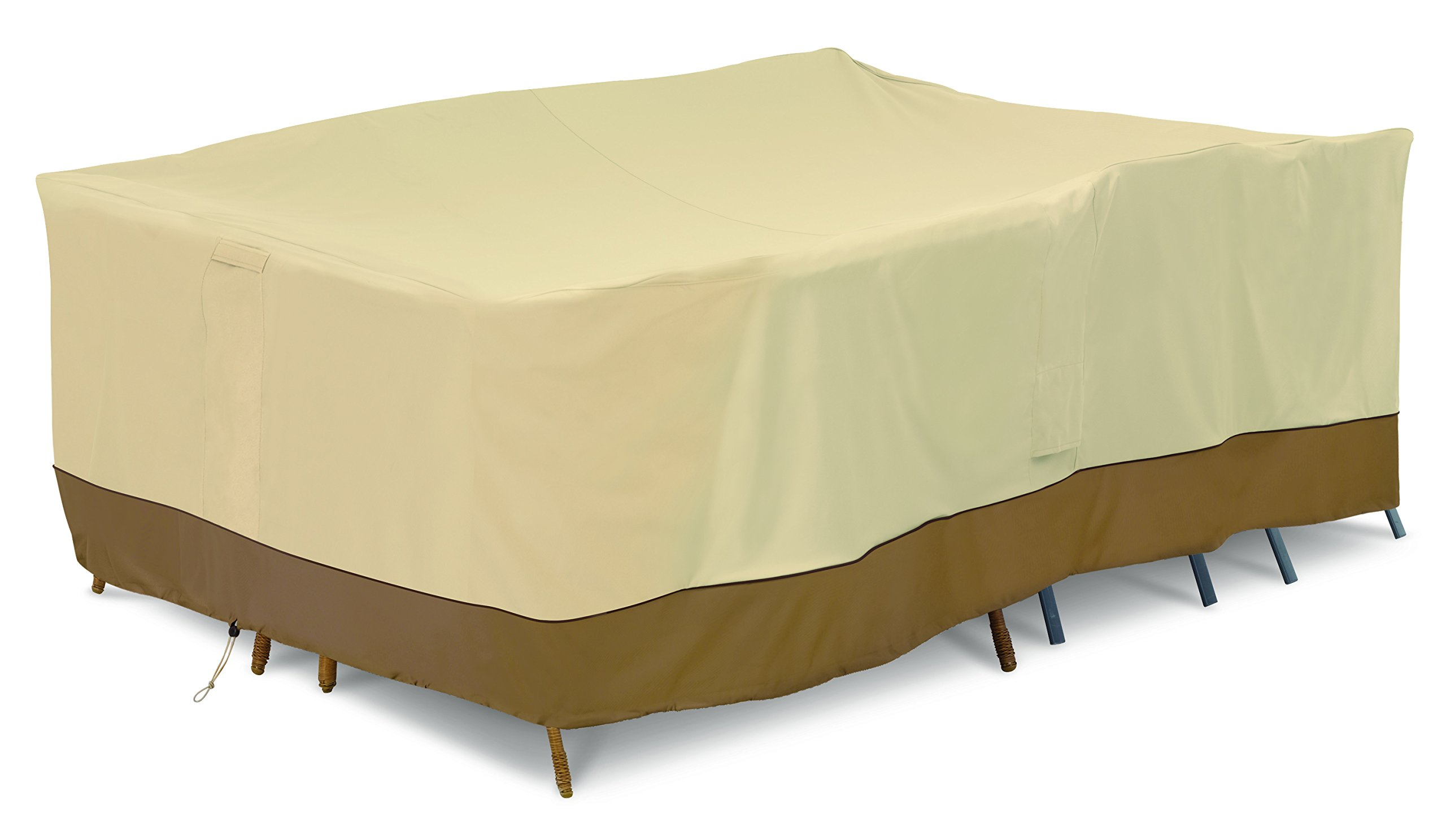 Classic Accessories 55-883-041501-00 Patio Furniture Cover, Large