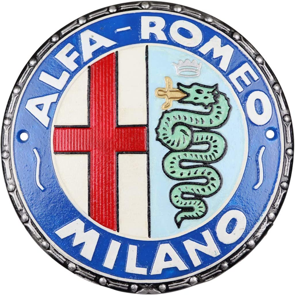 Details about  /ALFA ROMEO PARKING ONLY ALL OTHERS CRUSHED HOUSE DRIVEWAY METAL PLAQUE SIGN 1754
