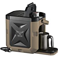 Deals on COFFEEBOXX Desert Tan Single Serve Coffee Maker