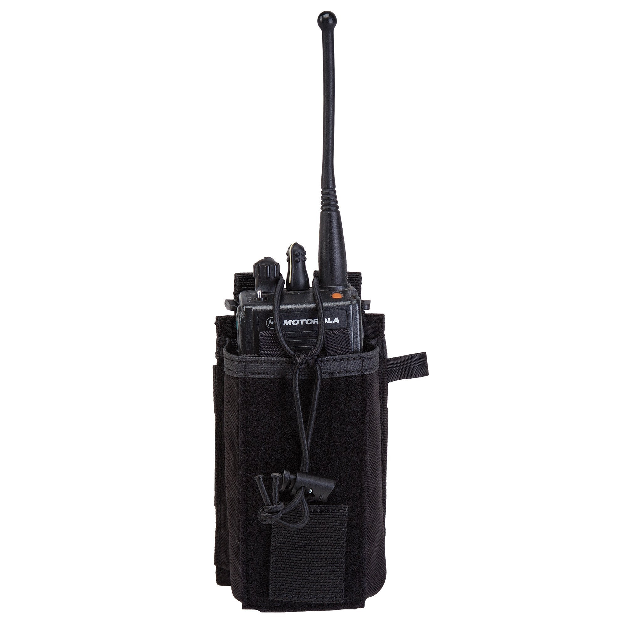 5.11 Radio Pouch Compatible with 5.11 Bags/Packs/Duffels, Style 58718, Black by 5.11