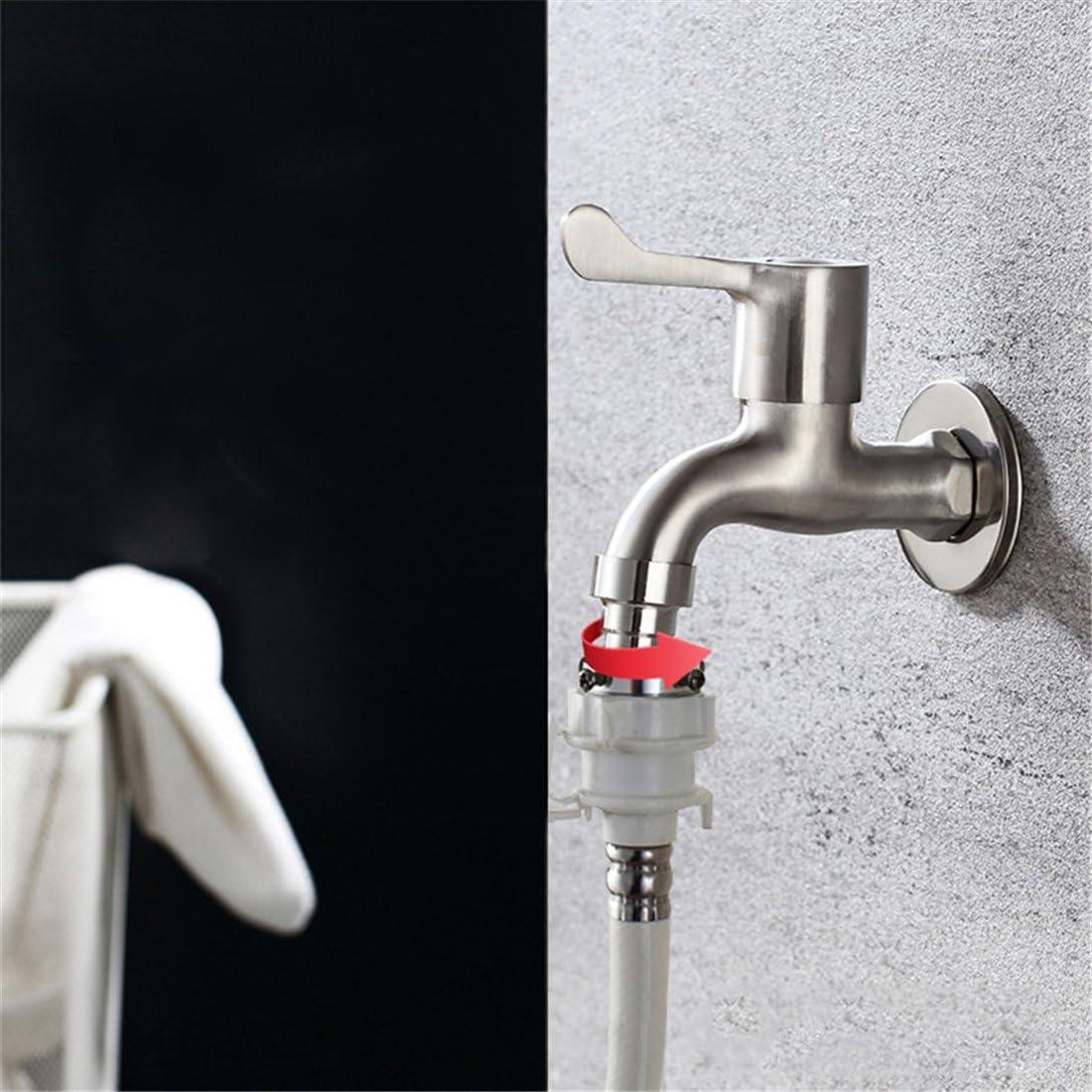 Zirtaps Simple Lavadora De Acero Inoxidable Faucet Balcón Grifo ...