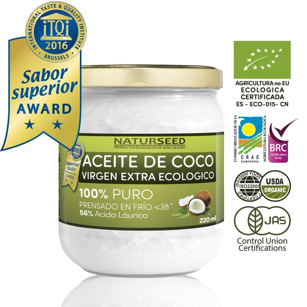 NATURSEED Aceite de Coco Virgen Extra Ecológico, 220 ml product image