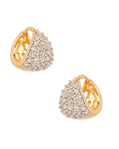 Buy Youbella Gold Plated Bali Hoop Earrings For Women line at