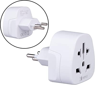 Suiza Switzerland CH Adapter Plug Viaje Tipo J to a UK, US USA American, AUS AU Australia, EU Europe European, China, Japan, Tailandia, Swiss Adaptador Universal Adaptor Enchufe Internacional 3 Pin: Amazon.es: