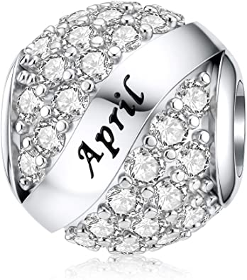 New Genuine 925 Sterling Silver Full Of Innocence Charm Bead Jewelry For Women