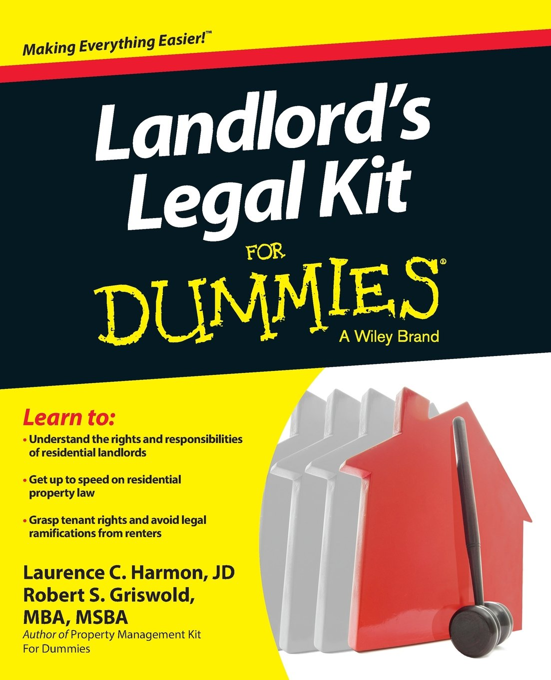 Landlords Legal Dummies Robert Griswold product image