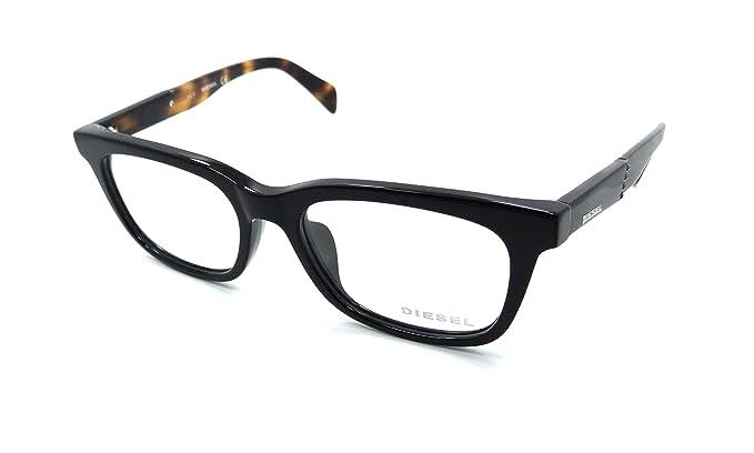 Amazon.com: Diesel Rx Eyeglasses Frames DL5148-D 001 54-18-145 Shiny ...