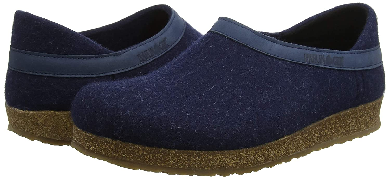 Haflinger Buffalo Grizzly, Zapatillas de Estar por casa para Mujer, Azul (Kapitän 79), 40 EU: Amazon.es: Zapatos y complementos