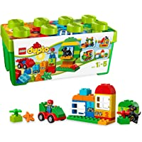 LEGO DUPLO Creative Play Building Blocks for Kids 1.5 to 5 Years, Multi Color (65 Pcs)10572