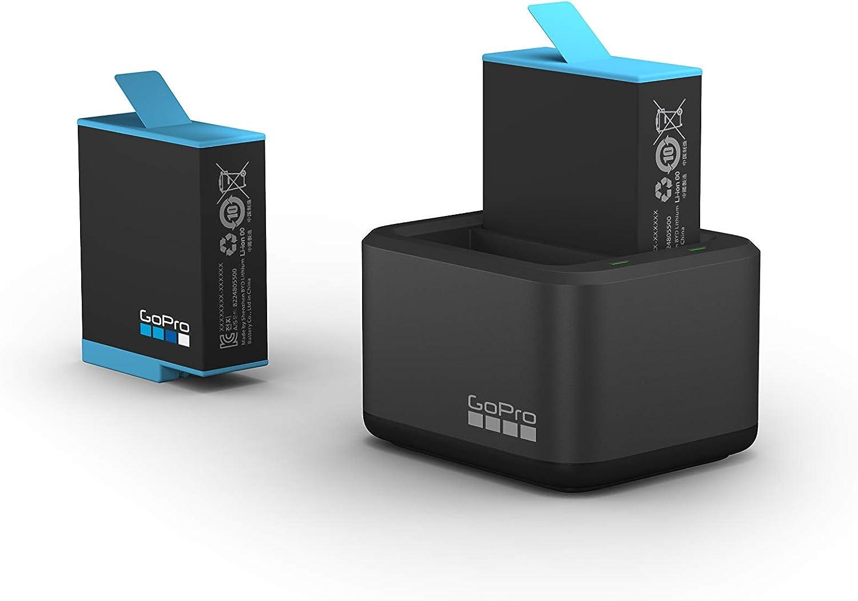 Cargador De Bateria Dual + Bateria Hero9 Black. Original