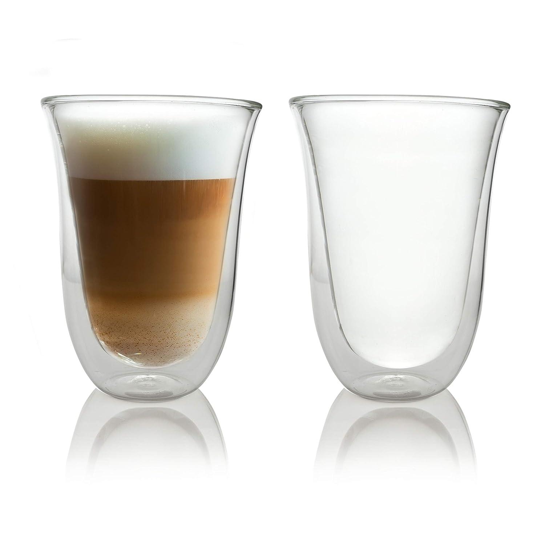 Caffé Italia Napoli 6 x 300 ml Double Wall Thermo Glasses - für Latte Macchiato Tea Hot and Cold Drinks - Dishwasher Safe iLP GmbH