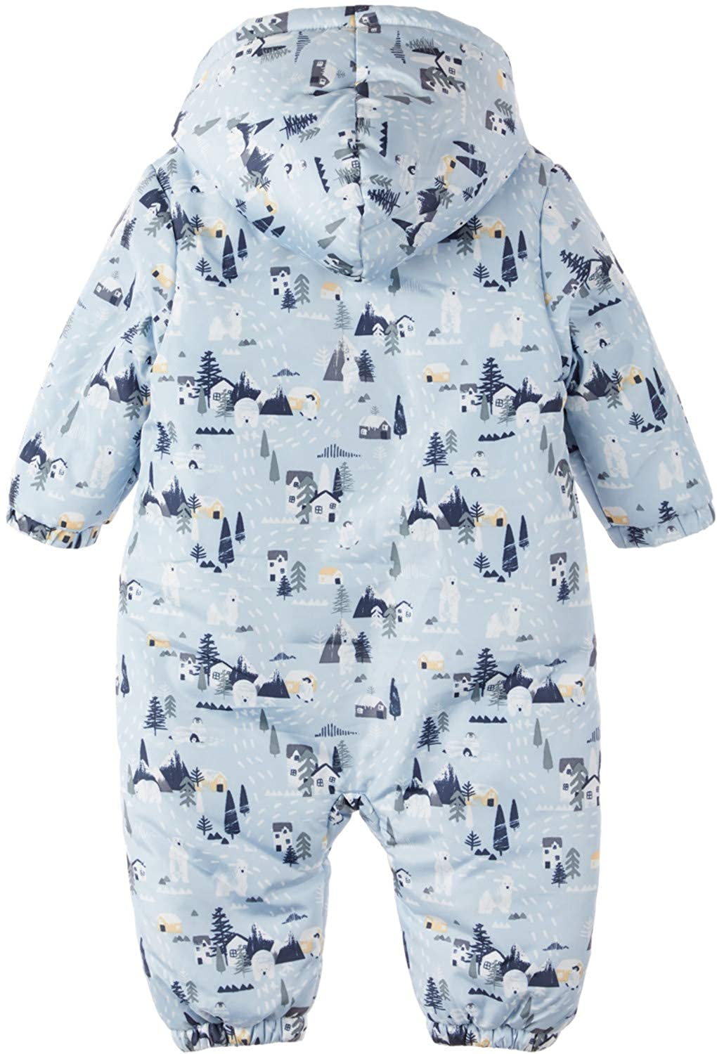 NAME IT Baby Jungen Schneeoverall Wagenanzug NBMMOW Suit