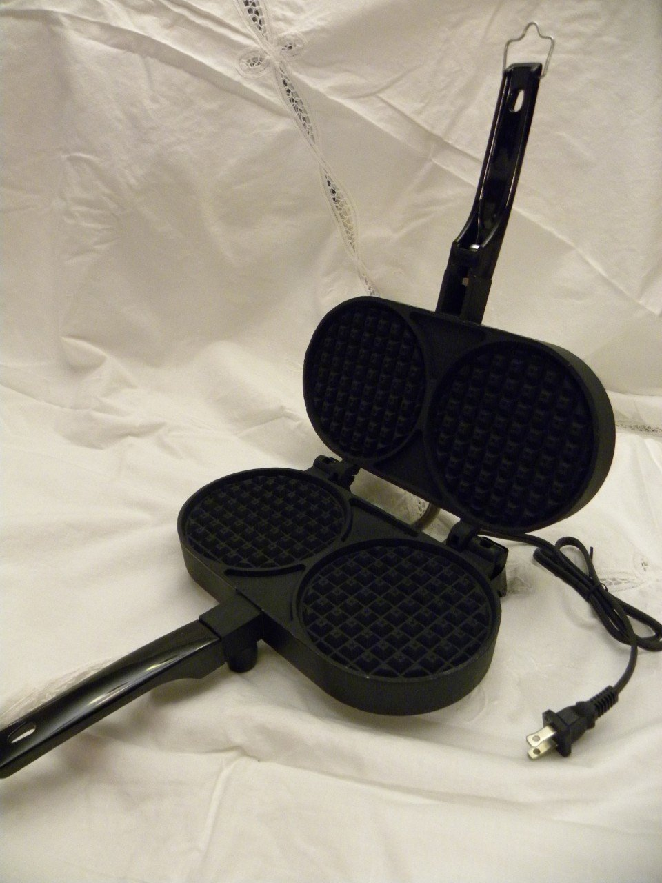 Palmer Electric Belgian Cookie Iron Waffler non stick