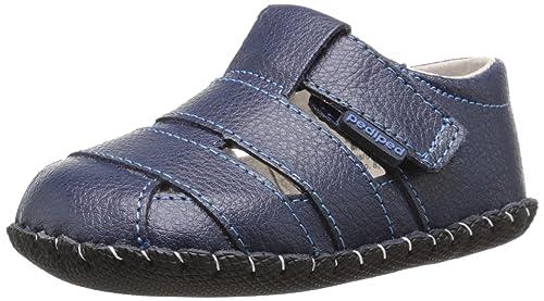 pediped Ross, Chaussures Marche Bébé Garçon, Bleu (Navy), 0-6 Mois