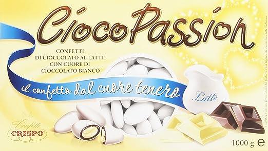 80 opinioni per Crispo Confetti Cioco Passion Cioccolato al Latte con Cuore di Cioccolato