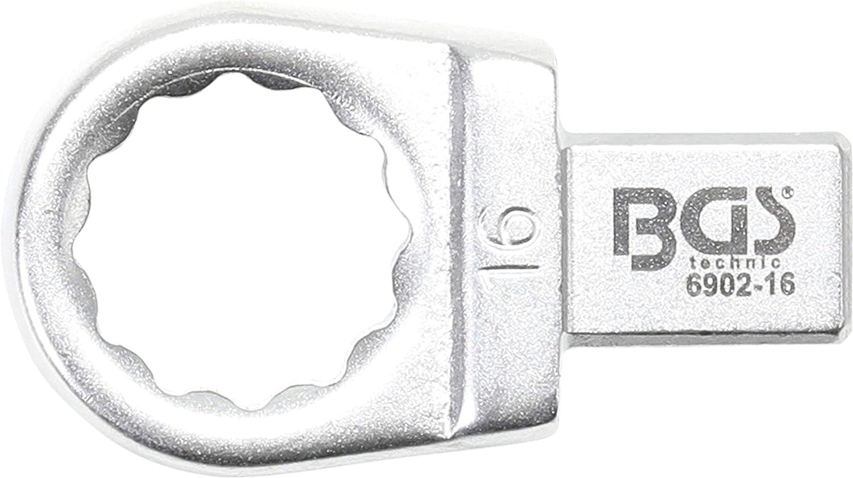 Einsteck-Ringschl/üssel 13 mm BGS 6902-13 Aufnahme 9 x 12 mm