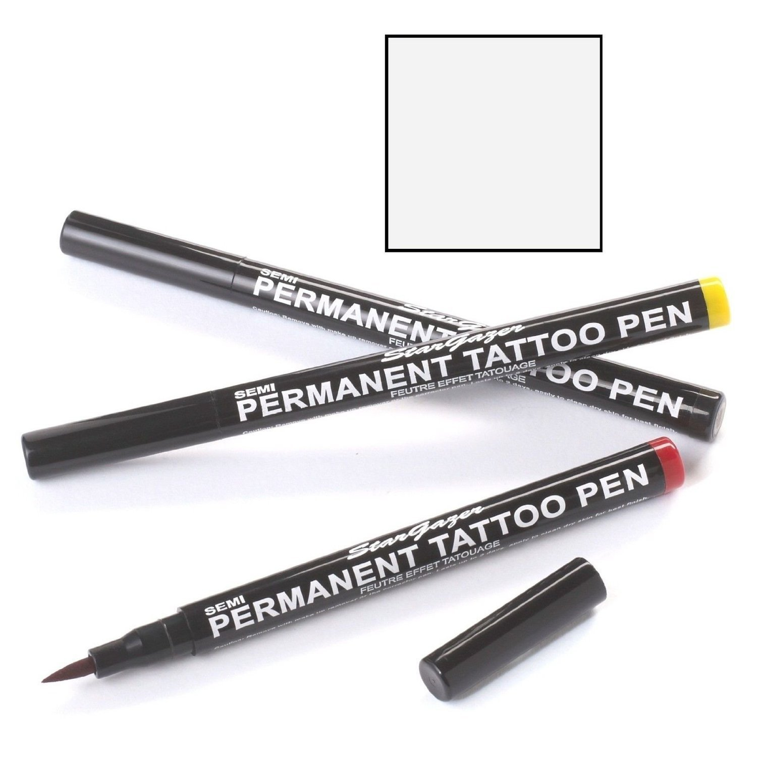 Stargazer Semi-Permanent Tattoo Pen #13 White by N MARKET