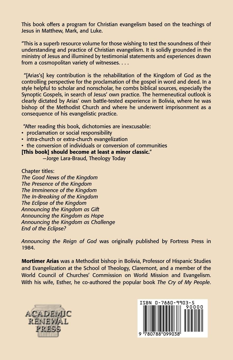 Announcing the Reign of God: Evangelization and the