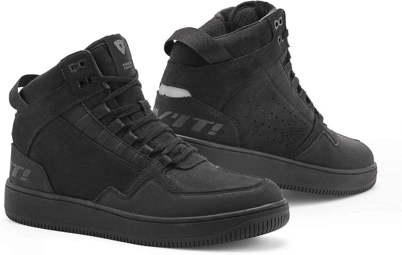 schwarz Revit Jefferson Shoes Motorradschuhe Schuhe zum Motorradfahren 43 EU
