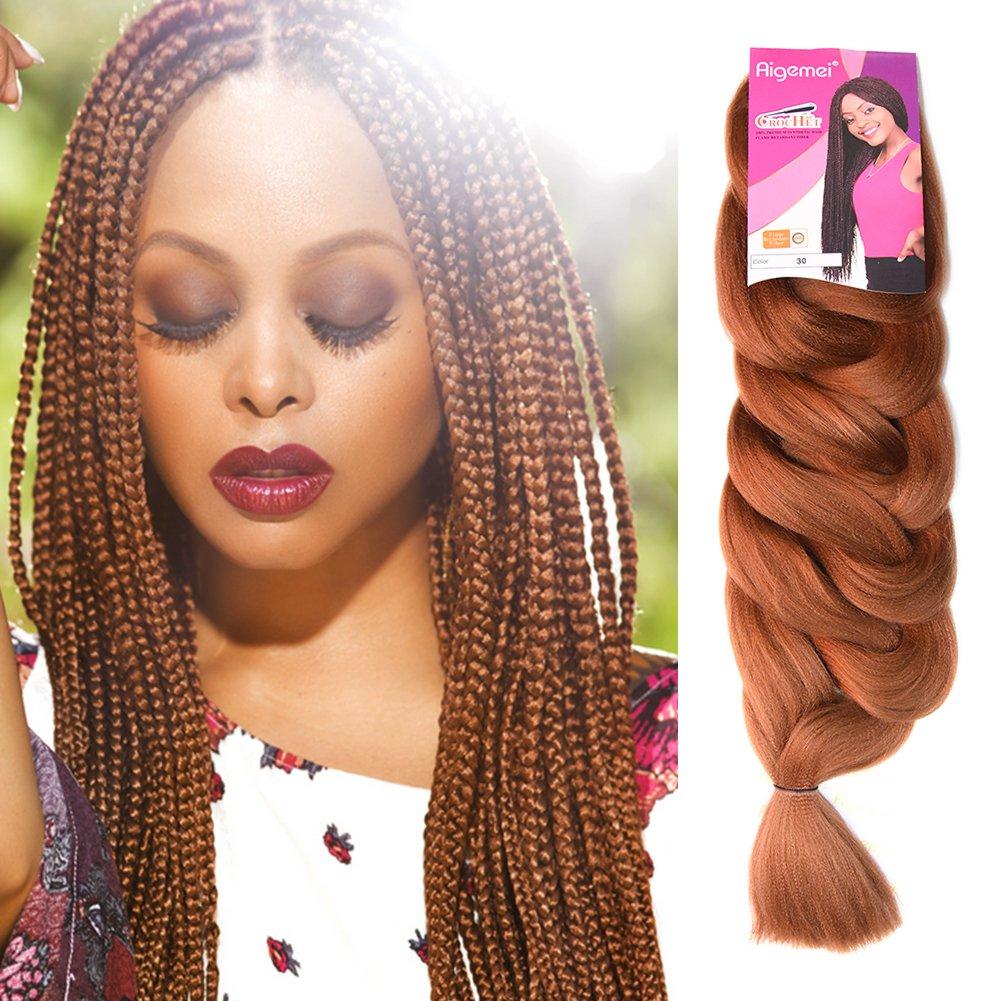 Amazon Kanekalon Jumbo Braiding Hair 1pcslot Ombre 84