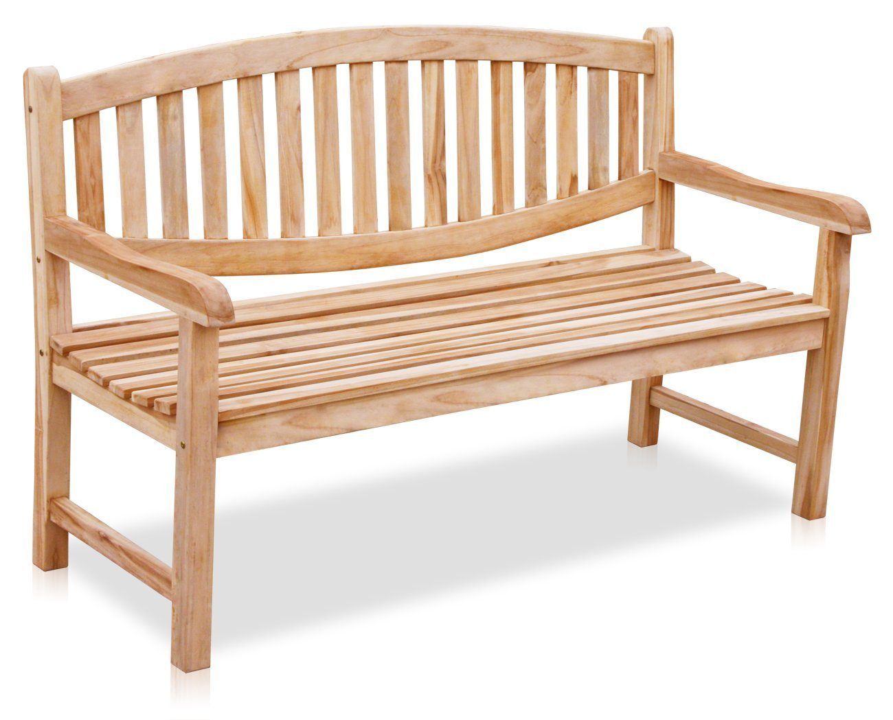 KMH®, Teak 3-sitzer Gartenbank Newcastle 150 cm (#102145)