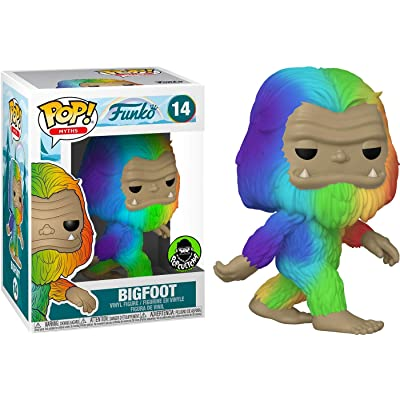 Funko Pop! Myths: Rainbow Bigfoot (Exclusive): Toys & Games