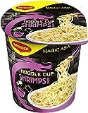 Maggi Magic Asia Noodle Cups Shrimps, 8er Pack (8 x 63 g)