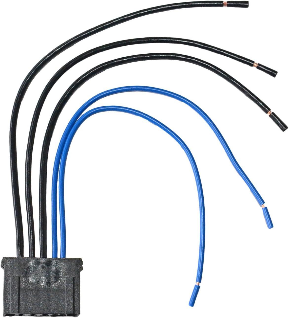 Calentador Ventilador Resistencia Cableado Arnés Conector Loom 6450.JP 9636618080