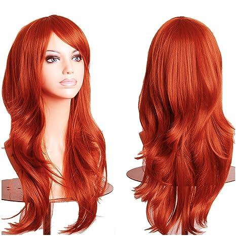 Peluca para mujer de 48, 58 y 60 cm aproximadamente, peluca lisa en las