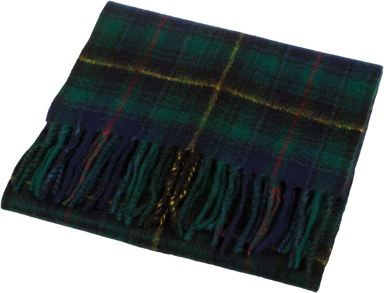 Clans Of Scotland Scottish Tartan Cashmere Scarf