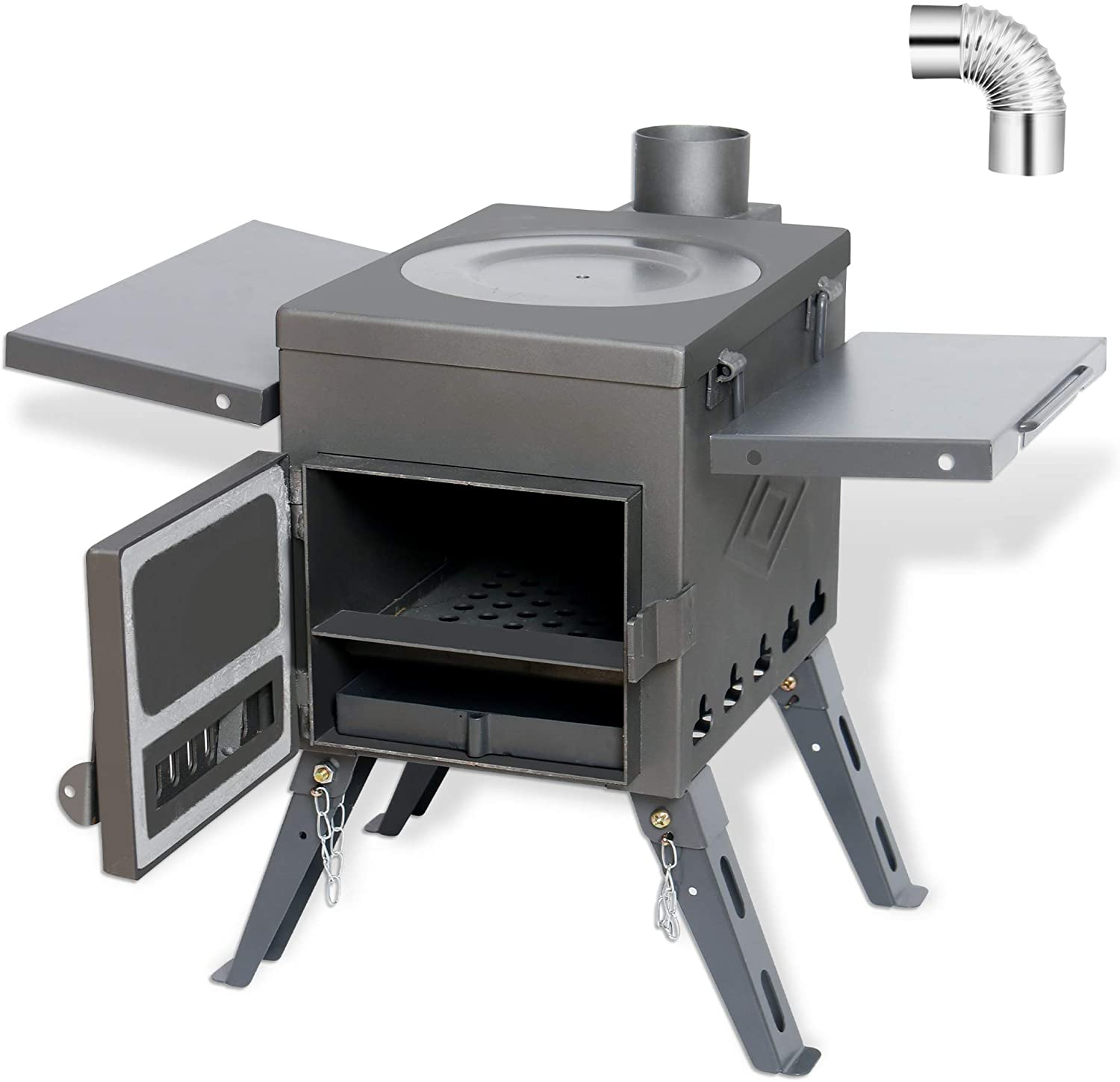 Incredibly portable palm-sized camping stove Robens Firefly Stove