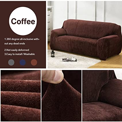 Super Taiyucover Warm Plush Anti Wrinkle 3 Seater Sofa Coversstretch Sectional Large Sofa Furniture Protectoranti Skid Armchair Loveseat Sofa Slipcovers Ocoug Best Dining Table And Chair Ideas Images Ocougorg