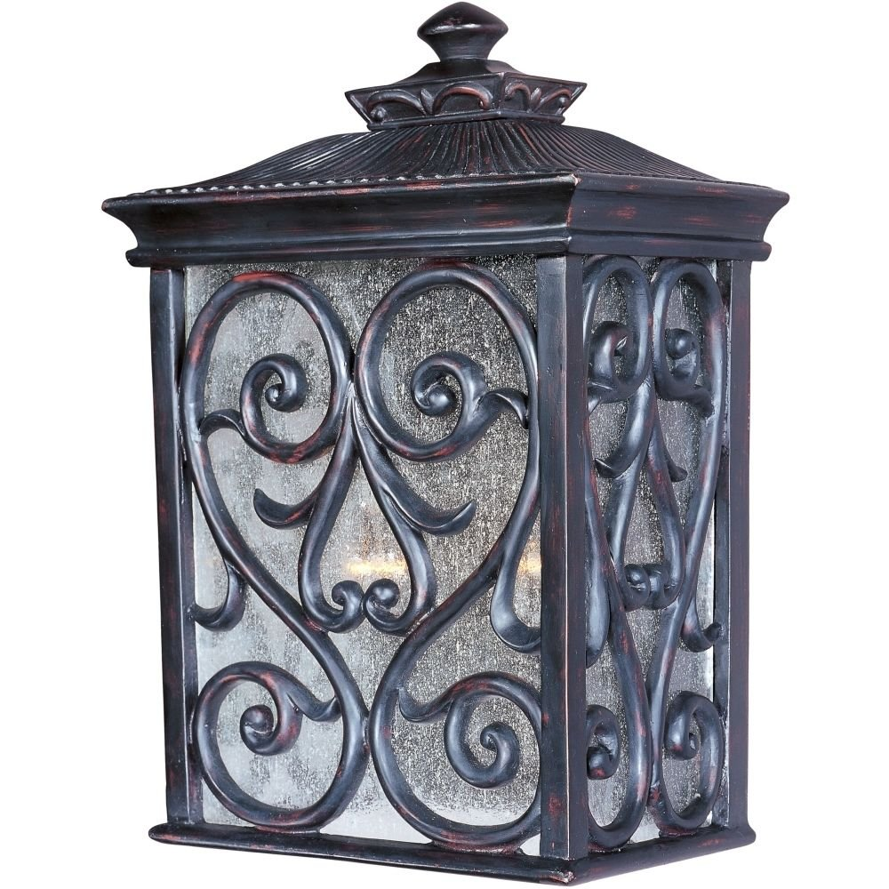 Maxim 40127CDOB Newbury VX 2-Light Outdoor Wall Lantern Light Oriental Bronze .#GH45843 3468-T34562FD472599