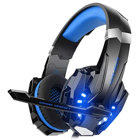837b94322b4 DIZA100 Kotion Each G9000 Gaming Headset Headphone 3.5mm Stereo Jack with  Mic LED Light for