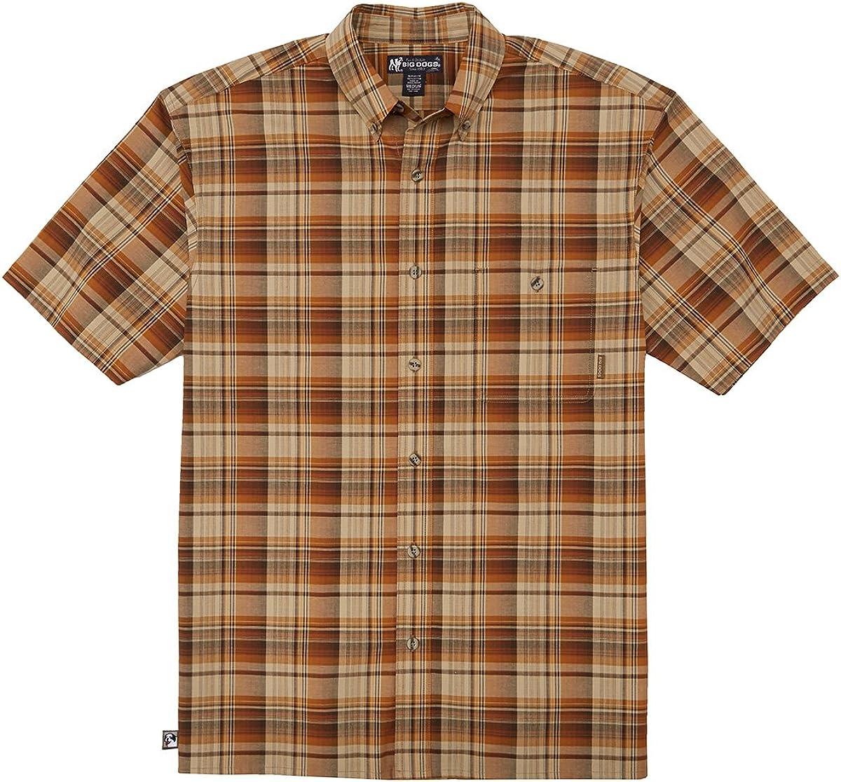 Big Dogs Madras Shirt