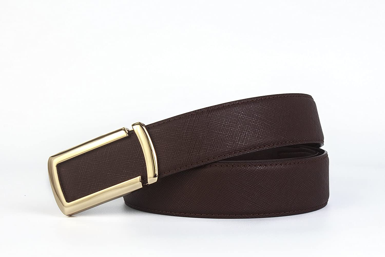 Mens Belt Business/&Casual Style Men Full Genuine Leather Belt 100cm-125cm