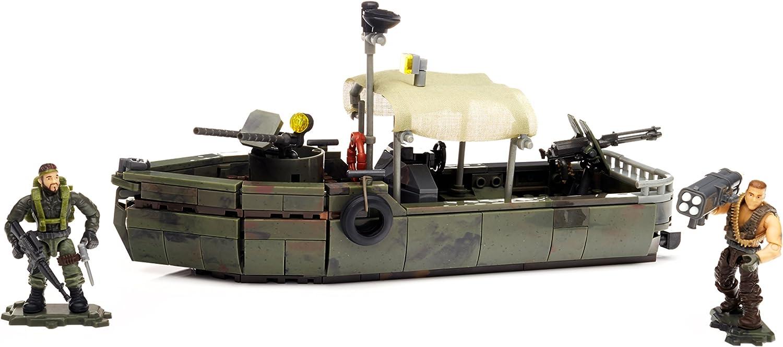 Mega Bloks - Set de Juego, Ataque en Barco (Mattel DPB56)