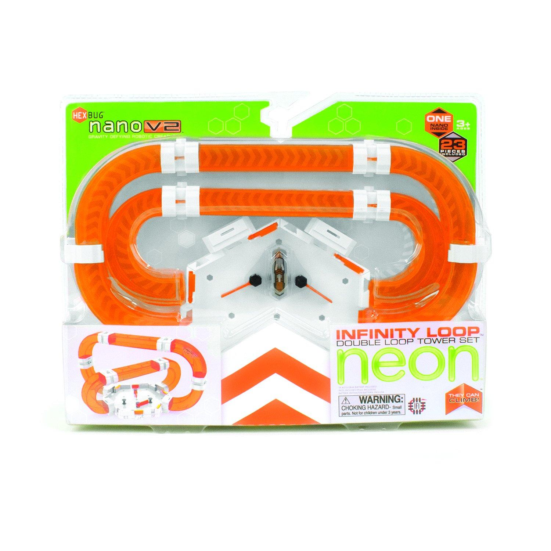 Hexbug Neon Infinity Double Loop Play Explore Fun STEM Toy Kid