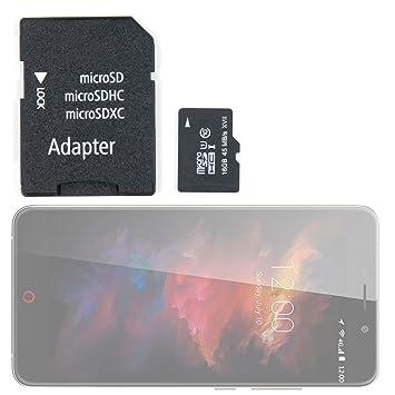 DURAGADGET Tarjeta de Memoria para Smartphone UMI MAX ...