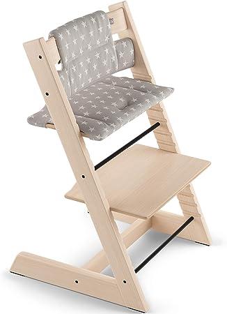 Práctico: Sirve de complemento para el Baby Set de la silla evolutiva TRIPP TRAPP a la que aporta ma