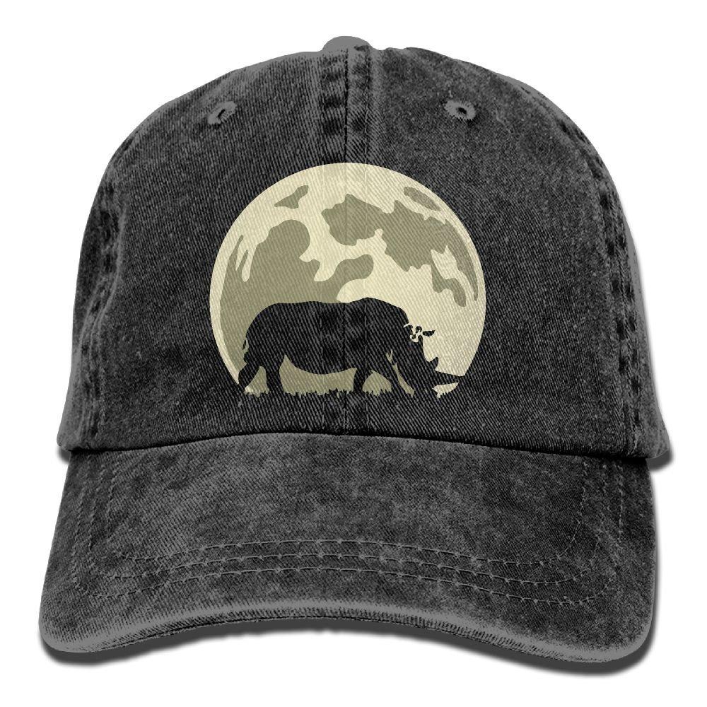 Cow Clip Art-1 Unisex Baseball Cap Cotton Denim Adjustable Sun Hat for Men Or Women