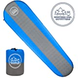 Western Owl Outfitters Best Self Inflating Sleeping pad Lightweight Camping Foam pad- Best for Camping Backpacking & Hiking. R Value of 4.9 - Inflatable Camping Mattress