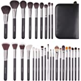 Docolor Makeup Brushes 29 Piece Professional Makeup Brush Set Premium Goat Hair Kabuki Foundation Blending Brush Face…