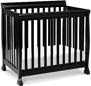 DaVinci Kalani 2-in-1 Mini Crib and Twin Bed, Ebony